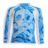 Textile Technique UVEA Teeshirt rashguard anti UV 80+ maillot manches longues INDIANA - Taille 2/4 ans - Imprimé booo