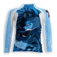 Textile Technique UVEA Teeshirt rashguard anti UV 80+ maillot manches longues INDIANA - Taille 2/4 ans - Imprimé dragoon