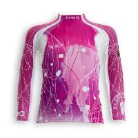 Textile Technique UVEA Teeshirt rashguard anti UV 80+ maillot manches longues INDIANA - Taille 2/4 ans - Imprimé jellyfish