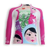 Textile Technique UVEA Teeshirt rashguard anti UV 80+ maillot manches longues INDIANA - Taille 9-18 mois - Imprime polska Aucune