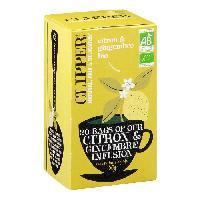 The CLIPPER Infusion Citron Gingembre Bio 50g - lot de 2 -A
