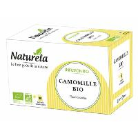 The Naturela Infusion Camomille Infusettes 20 x1.2g Bio