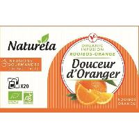 The Naturela Infusion Douceur d'Oranger 20x1.5g Bio
