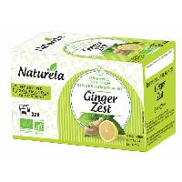 The Naturela Infusion Ginger Zest 20x1.5g Bio