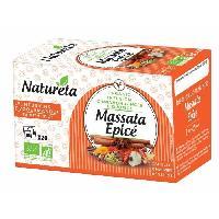 The Naturela Infusion Massala Epice 20x1.5g Bio