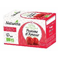 The Naturela Infusion Pomme d'amour 20x1.5g Bio