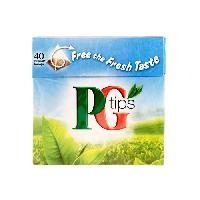 The PG TIPS The noir - 40 sachets - 125 g