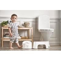 Toilette Bebe BABYBJORN Marchepied. Blanc/Gris