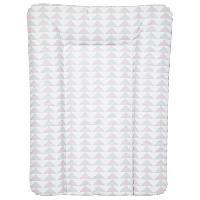 Toilette Bebe BABYCALIN Matelas a langer Essentiel Geometriques - Rose et gris - 50 x 70 cm