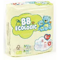 Toilette Bebe BEBE ECOLOGIC Couches taille 5 - 24 couches - Aucune