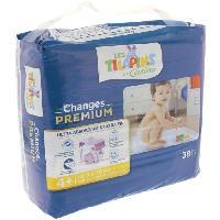 Toilette Bebe Les Tilapins couches Premium Co 9-20kg T4x38 couches - Aucune