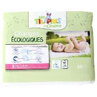 Toilette Bebe Les Tilapins couches écologiques T3x36 couches - Aucune