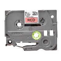 Toner - Recuperateur De Toner Ruban P-TOUCH TZE-421 - Noir Rouge - 9mm