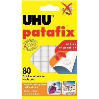 Tracage - Decoupage - Collage UHU Patafix Blanche 80 Pastilles