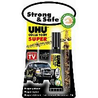 Tracage - Decoupage - Collage UHU Strong & Safe Colle Super Puissante Tube 7g