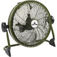 Traitement De L Air BESTRON Brasseur - Panier 35cm - rechargeable - en couleur ''Outdoor green'' - Debit d'air 38.42m3-min. - Vitesse de l'air 3.35m-sec