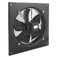Traitement De L Air Extracteur d'air mural pour ventilation industrielle de 400 mm 1360trmn 540x540x80 mm YWF-4E400 KH003