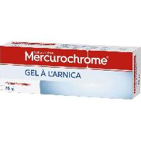 Traitements Libre Service - Soins Pathologies Mercurochrome Gel a l'arnica 75ml