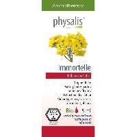 Traitements Libre Service - Soins Pathologies Physalis huile ESSENTIELLE Immortelle 5 ml Bio Aucune