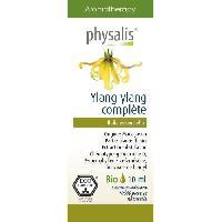 Traitements Libre Service - Soins Pathologies Physalis huile ESSENTIELLE Ylang ylang  10 ml Bio Aucune
