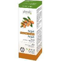 Traitements Libre Service - Soins Pathologies Physalis huile végétale Argan 100 ml Bio Aucune