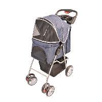 Transport - Deplacement - Promenade DUVO Pet Buggy 4 roues - 80x46x100 cm - Pour chat et chien