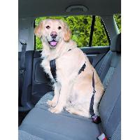 Transport - Deplacement - Promenade Harnais pour voiture pour chien 50-70 cm