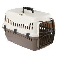Transport - Deplacement - Promenade KERBL Box de transport Expedition pour chien - 48x32x32cm - Creme et taupe