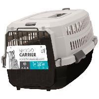 Transport - Deplacement - Promenade M-PETS Caisse de transport Viaggio Carrier M - 68x47.6x45cm - Noir et gris - Pour chien M Pets