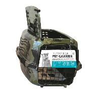 Transport - Deplacement - Promenade MPETS Cage de transport Warrior - Pour chien - 46x31x23cm - Vert kaki