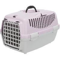 Transport - Deplacement - Promenade TRIXIE Box de transport Capri 1 - XS - 32 x 31 x 48 cm - Gris clair et mauve - Pour chien