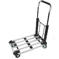Transport Et Manipulation De Charges Chariot aluminium pliable - Charge 150 kg - Gris