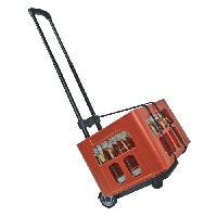 Transport Et Manipulation De Charges MANNESMANN Chariot pliable - Charge 30 kg - Noir