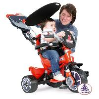 Tricycle INJUSA Tricycle Body Trike avec Pare Soleil Rouge