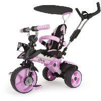 Tricycle INJUSA Tricycle enfant évolutif City Rose