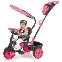 Tricycle LITTLE TIKES Tricycle Evolutif 4 en 1 Deluxe Edition Neon Rose