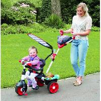 Tricycle LITTLE TIKES Tricycle Evolutif 4 en 1 Sports Edition Rouge/Blanc