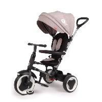 Tricycle QPLAY Tricycle evolutif Rito - Pliage compacte - Gris