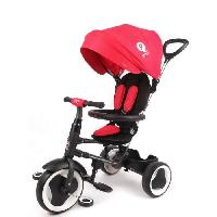 Tricycle QPLAY Tricycle evolutif Rito - Pliage compacte - Rouge
