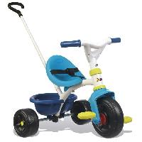 Tricycle SMOBY Tricycle Enfant Evolutif Be Fun Bleu