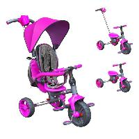 Tricycle STROLLY - Tricycle Evolutif Strolly Compact - Rose Y-volution