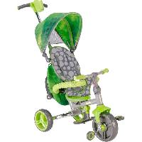 Tricycle STROLLY -Tricycle Evolutif Strolly Compact - Vert Y-volution