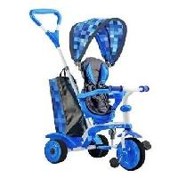 Tricycle STROLLY - Tricycle Evolutif Strolly Spin - Bleu Y-volution