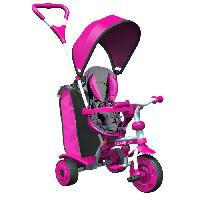 Tricycle STROLLY - Tricycle Evolutif Strolly Spin - Rose Y-volution
