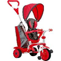 Tricycle STROLLY - Tricycle Evolutif Strolly Spin - Rouge Y-volution