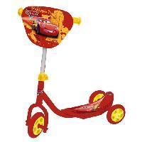 Trottinette CARS Trottinette 3 roues avec sac de rangement