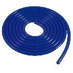 Tube de depression silicone - Bleu - D4mm - Lg 3m