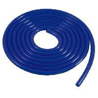 Tube de depression silicone - Bleu - D5mm - Lg 3m