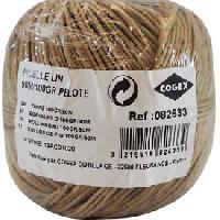 Tulle - Noeud - Ruban - Ficelle Ficelle naturelle lin 100m [620997]