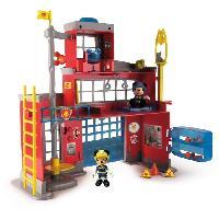 Univers Miniature - Habitation - Garage Miniature MICKEY Caserne De Pompiers